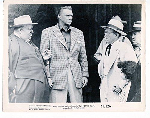 Silver screen PHOTO: Run For The Hills-Sonny Tufts-Paul Maxey-8x10-B&W-Promo-Still-Drama