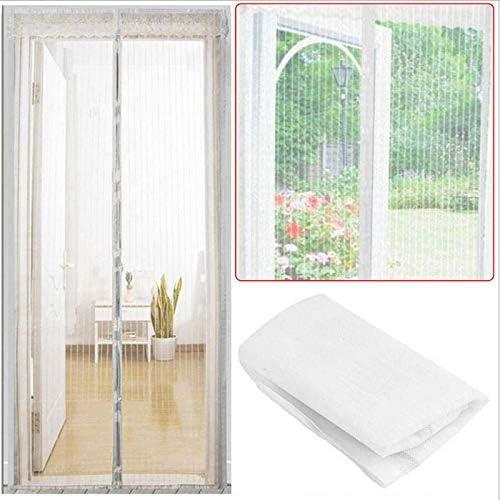Cortinas de verano contra mosquitos e insectos. La red magnética adsorbe y cierra automáticamente las pantallas de las puertas. Cortinas de cocina A3 W110xH210