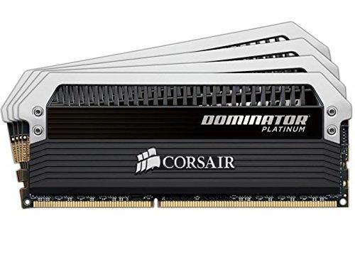 Corsair Dominator Platinum 16GB (4x4GB)  DDR3 1866 MHZ (PC3 15000) Desktop - Platinum 15000 Series