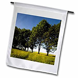Danita Delimont - Massachusetts - Sawyers Island, Rowley, Massachusetts - US22 JMO0291 - Jerry and Marcy Monkman - 12 x 18 inch Garden Flag (fl_90854_1)