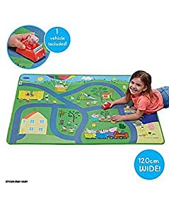 Amazon Com New Peppa Pig Mega Play Mat With Peppa Vehicle