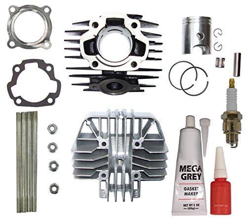 - YAMAHA PW 80 PW80 Cylinder Gasket Piston Ring Kit Set Top End 1983-2006 Bike