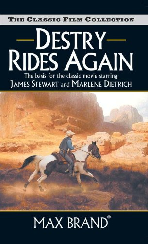 book cover of Destry Rides Again