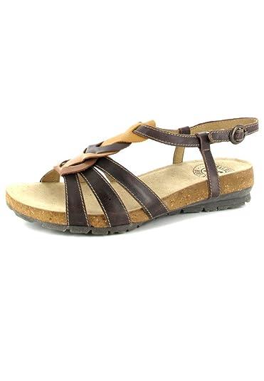 1cc5d2a419ea Josef Seibel - Andrea 03 - Damen Sandalen - Braun Outlet Schuhe Günstig  Sale, Größe