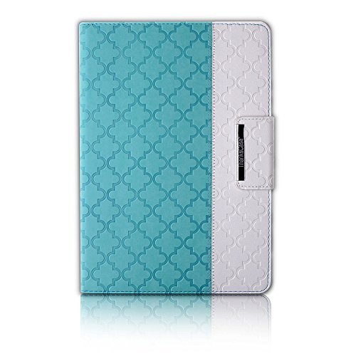 Thankscase Rotating Beautiful Quatrefoil Embossed