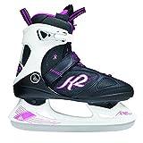K2 Skate Alexis Ice Pro Skates, Black/White/Pink, Size 9.5