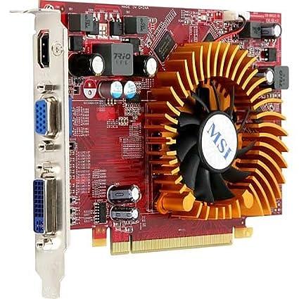 MSI R4650-MD1G 1GB GDDR2 - Tarjeta gráfica (1 GB, GDDR2, 128 ...
