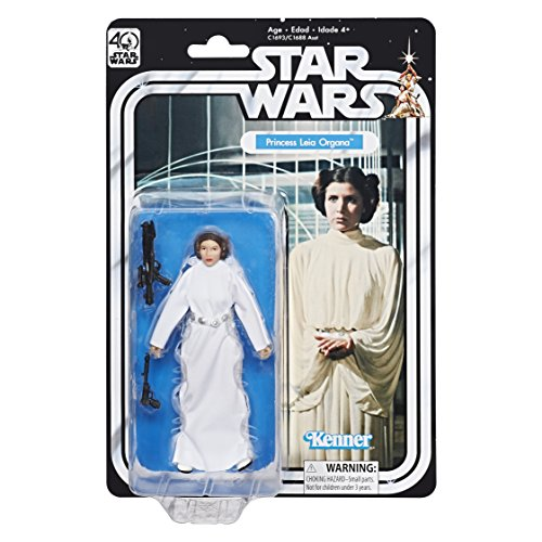Star Wars The Black Series 40th Anniversary Princess Leia Organa 5.25 Inch Figure ()