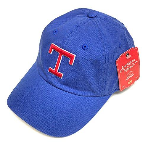 American Needle MLB Texas Rangers Royal Team BallPark Adjustable (Texas Rangers Ball)