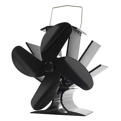 Ventilador de estufa accionado por calor Signstek - Ventilador accionado por calor respetuoso con el medio