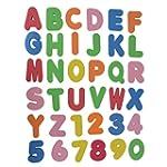 IDH 36pcs Baby Kids ABC 123 Sponge Fo...