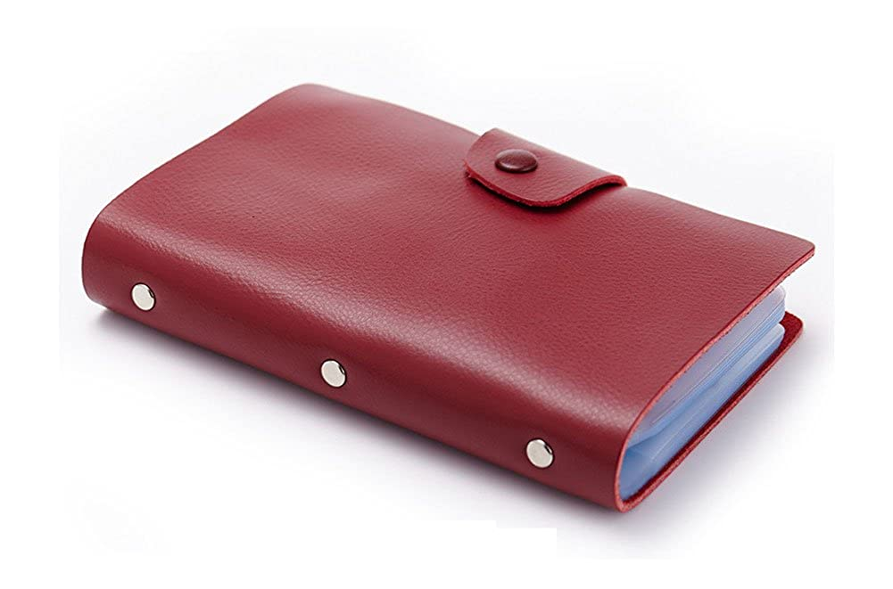 Women Leather Card Holder Men Credit Card Protector Security Purse Wallet