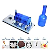 Gift2U Glass Bottle Cutter Kit, DIY Stainless Steel Machine for Cutting Wine Beer