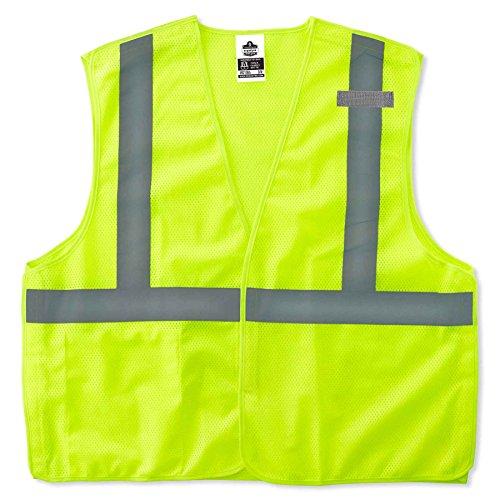 - Ergodyne GloWear 8215BA ANSI High Visibility Lime Breakaway Reflective Safety Vest, 4XL/5XL