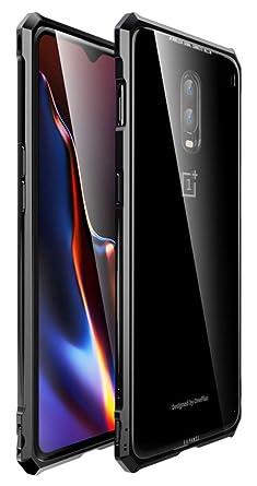 Amazon.com: Funda OnePlus 6T, marco de metal y hebilla ...