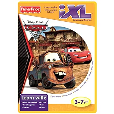 Fisher-Price iXL Learning System Software Disney/Pixar Cars 2: Toys & Games