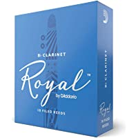 Royal by D'Addario Bb Clarinet Reeds, Strength 2.0, 10-pack