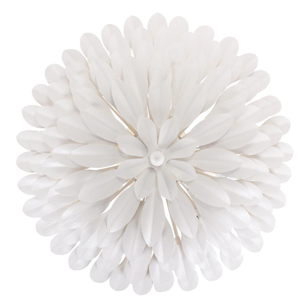 Crystorama 505-MT/_WALL Leaf Fruit Four Light Wall Sconce from Broche collection in Whitefinish, Flower
