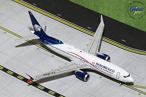 GeminiJets Aeromexico B737 MAX 8 XA-MAG 1:400 Scale Diecast Model Airplane