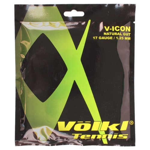 Volkl V Icon 17g Tennis Strings (Clear)