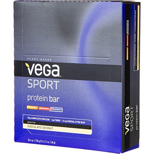 Vega - Protein Bar - Box 12x 2.1oz Chocolate Coconut