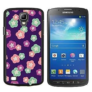 "S-type Patrón floral del trullo Flores de Primavera"" - Arte & diseño plástico duro Fundas Cover Cubre Hard Case Cover For Samsung Galaxy S4 Active i9295"