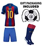 Best Soccer Jerseys - JerzeHero Barcelona Messi #10 Youth Kids Soccer Jersey Review