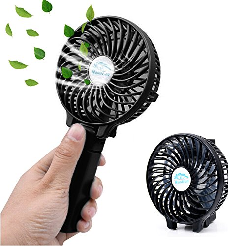 EssVita Handheld Portable Mini Travel Hand Fan USB Foldable Multipurpose...