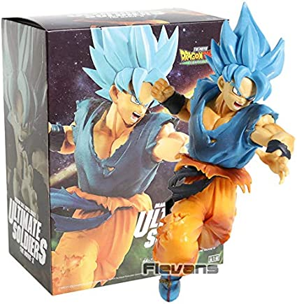 Movie Dragon Ball Super ULTIMATE SOLDIERS THE MOVIE Ⅳ Gogeta GOD Figure BROLY