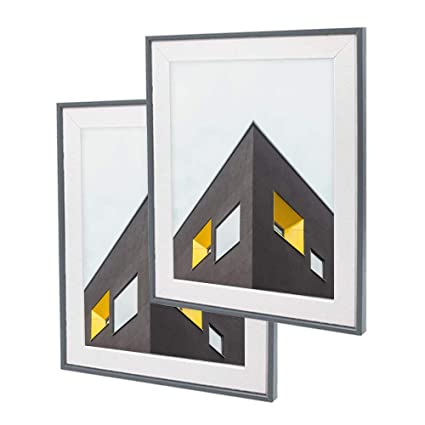 Amazon.com - Afuly 10x12 Picture Frames Set Wood - Made to Display ...