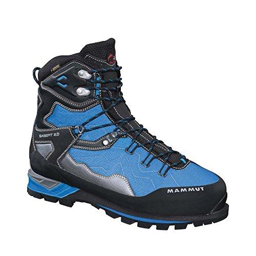 Mammut Magic Advanced High GTX® Men (Mountaineering Footwear (Step-In Crampon)), color:cyan-black;size:9.5 UK / 43.5 EUR