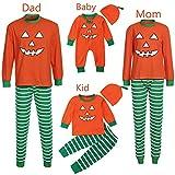 LIKESIDE Toddler Kids Boy Girl T Shirt Pants Family Pajamas Sleepwear Halloween Outfits