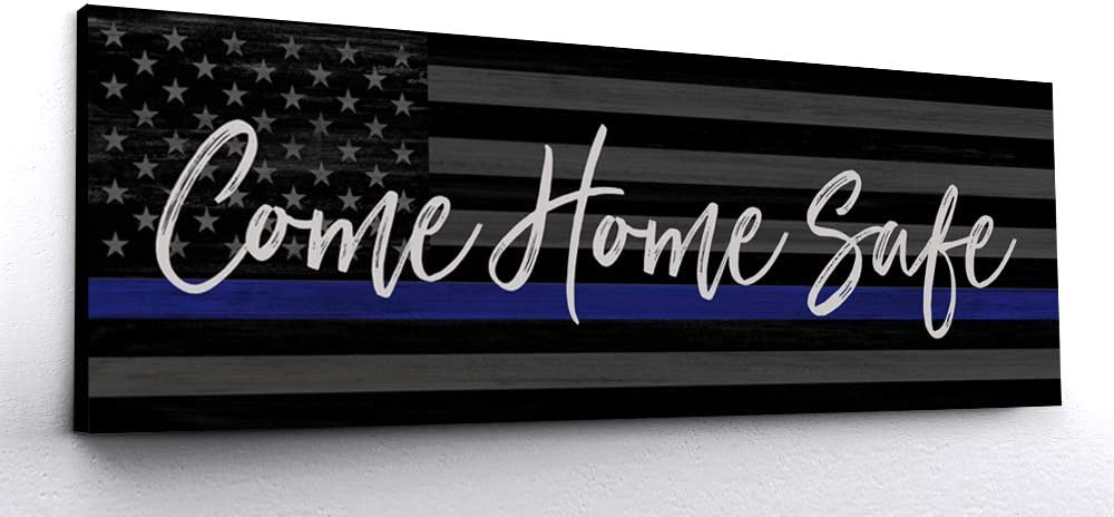 come home safe art for cops