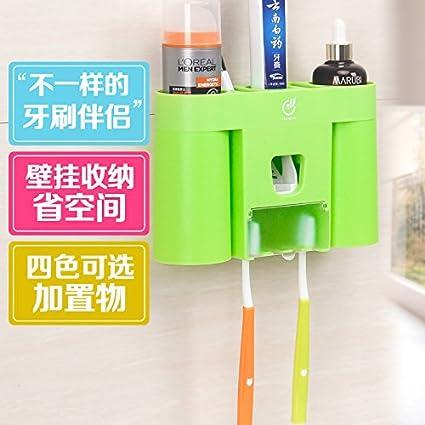 Bajrangi - Soporte para cepillos de dientes (accesorio para lavatorios, vasos de cepillos de