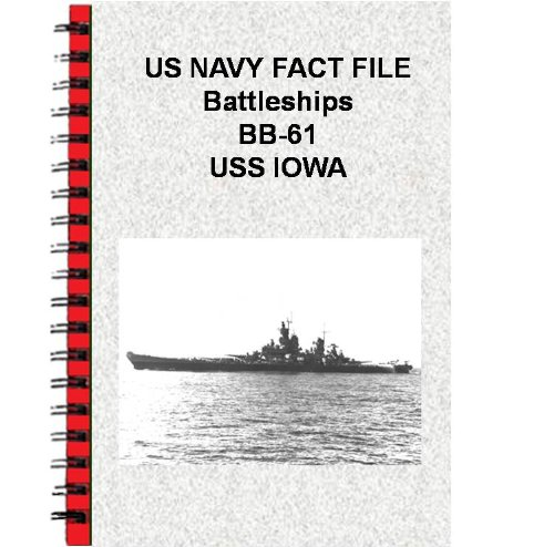 US NAVY FACT FILE Battleships BB-61 USS IOWA (Bb Battleship Iowa 61)