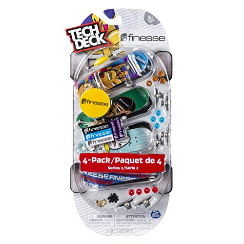 Tech Deck - 96mm Fingerboards - 4-Pack - Finesse