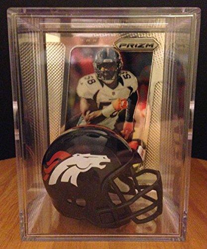 Denver Broncos NFL Helmet Shadowbox w/ Von Miller card