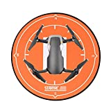 Freshzone Drone Landing Pads,40CM Universal Waterproof Landing Pad Fast-fold Double Sided Quadcopter Landing Pads for DJI Mavic Air Pro Spark Drones