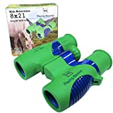 Playing Booster Binoculars for Kids 8x21, Kids Binoculars, Best Toy for Boys and Girls- Compact, Spy, Waterproof and Shockproof, Mini, Powerful, Bird Watching, Favors, Real, Camo, Hunting, Play
