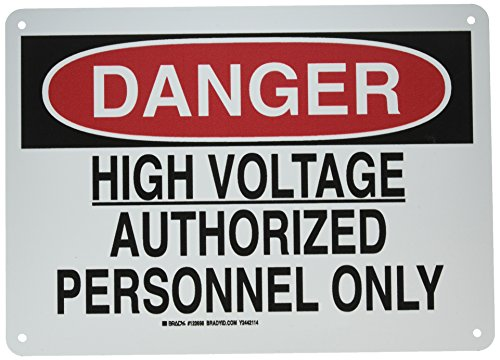 Electrical Hazard Sign - 9