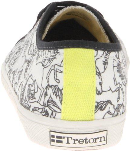 Tretorn Black Horses Seksti Women's Snow Stampede White Shoe Tennis Snow rqzrxw4En