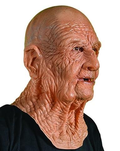 amazon com zagone doa mask old dead bald wrinkly man super soft