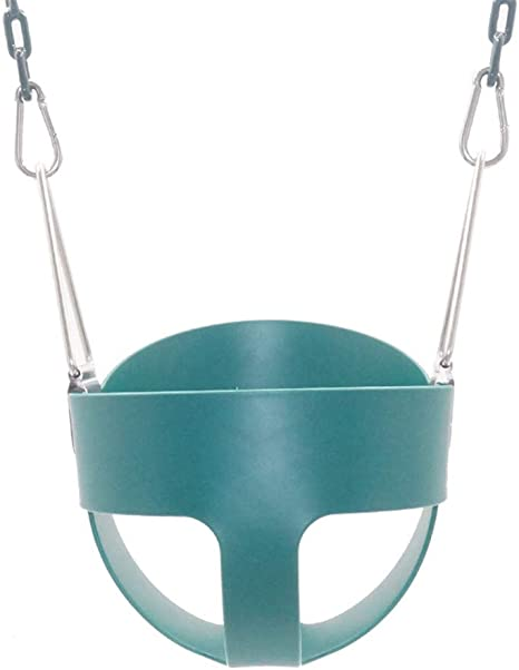 SUWIN Colorido Columpio para Colgar al Aire Libre de EVA, Columpio para niños, Asiento de bebé para Interior, Paseos en jardín Green: Amazon.es: Deportes y aire libre