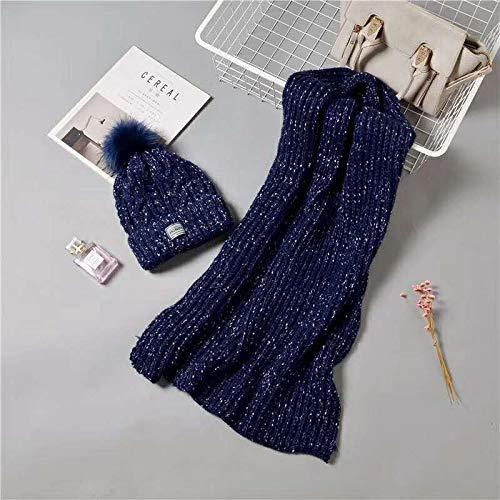 guanti Acvip di Black sciarpe Set guanti e qwP8RCHx