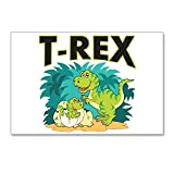 Postcards (8 Pack) T-Rex Dinosaur Tyrannosaurus Baby