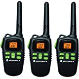 Motorola MD200TPR FRS Two-Way, 20 Mile Radio Triple Pack (Black)
