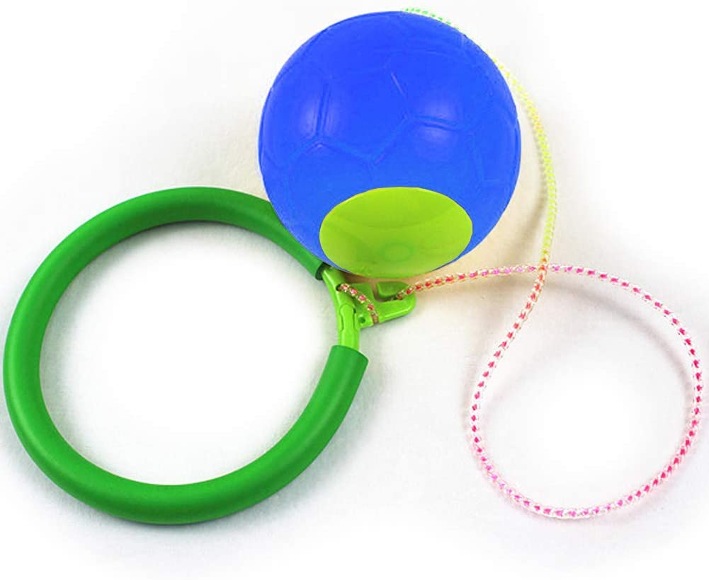 Godob Skip Ball Enfants Exercice Coordination et Balance Hop Jump Playground Toy