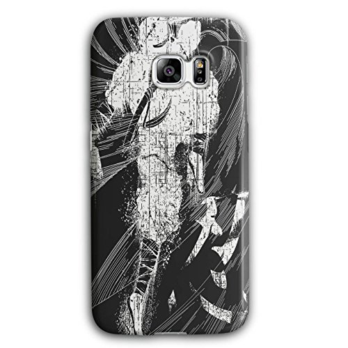 [Asian Ninja Warrior Battle Kick NEW Black 3D Samsung Galaxy S6 Edge Plus Case | Wellcoda] (3 Ninjas Kick Back Costume)