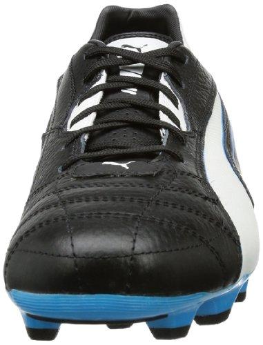 Puma Momentta MG - Botas de fútbol para hombre Negro (Schwarz (black-white-fluo blue 06))