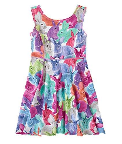 Pink Animal Print Dress - 8